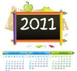 可爱的2011年日历