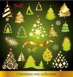 多款卡通圣诞树