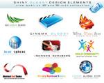 3D风格logo模板