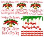 圣诞节字母数字
