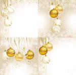 圣诞节水晶吊球