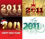 2011圣诞字体