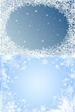 精美雪花相框