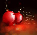 水晶圣诞节挂球1