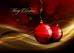 水晶圣诞节挂球2