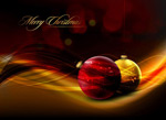 水晶圣诞节挂球4