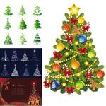 精美圣诞树矢量