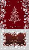 2011圣诞节花纹