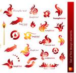 火焰风格LOGO