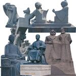著名人物石雕