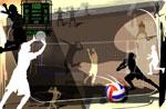 排球运动PSD