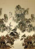 写意山水国画