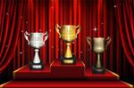 金银铜奖杯