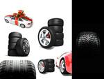 3D汽车轮胎