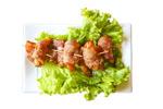 罗勒培根虾卷