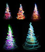 炫光圣诞树图片