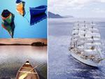游轮木船图片
