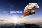 创意飞船海世界