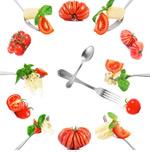 蔬菜与面食