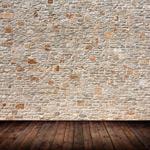 墙面纹理与木板