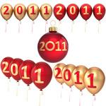2011彩色气球
