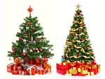 3D圣诞树高清图片