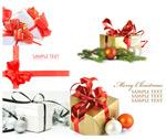 圣诞礼盒丝带
