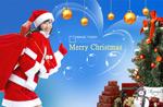 靓丽圣诞女郎3