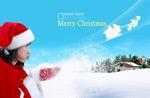 靓丽圣诞女郎1