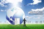 地心之门创意地球