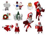 3D圣诞节高清图片