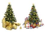 精美圣诞树01