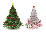精美圣诞树02