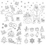 圣诞简笔画