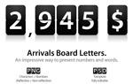 翻牌数字字母