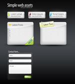网页按钮box和表