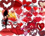 情人节装饰元素