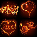 火焰浪漫心型3
