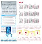 2011年日历模板3