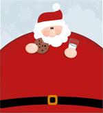 肥胖的圣诞老人