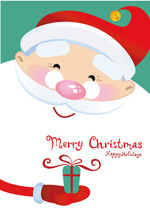 可爱的圣诞老人