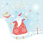 快乐的圣诞老人