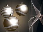 圣诞彩球与吊球