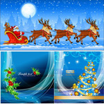 圣诞主题背景