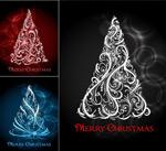 花纹装饰圣诞树