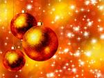 圣诞彩球02矢量