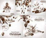 手绘圣诞装饰