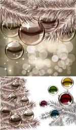 水晶质感的吊球