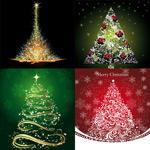 星光璀璨的圣诞树