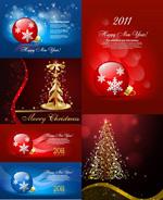 精美圣诞饰品背景